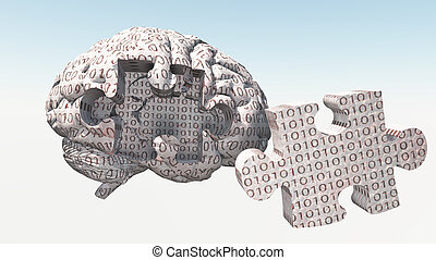 Binary Brain Puzzle