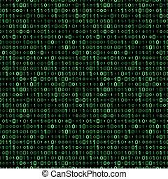 binary code background - binary code seamless pattern....
