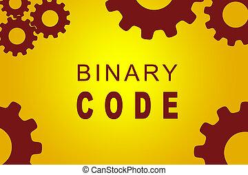 Binary Code concept