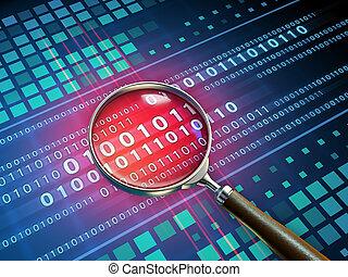 Binary code inspection
