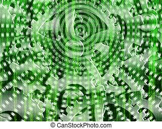 Binary code streaming
