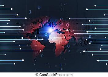 Binary Code Technology Background