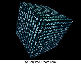 binary cube