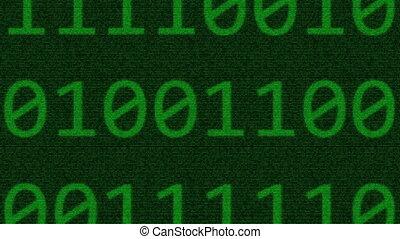 Binary data on infinite zoom