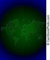 Binary Earth