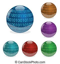 Binary Orbs