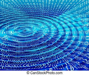 binary ripple abstract