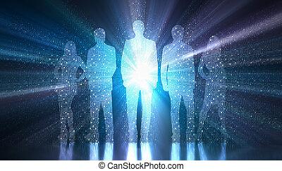 Binary Team Digital World