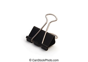 Binder Clip - Isolated binder clip