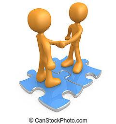 bindung, abkommen