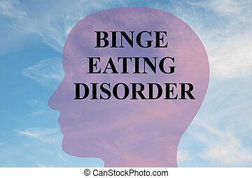 Binge Eating Disorder concept