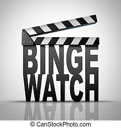 Binge Watch - Binge watch and watching consecutive cable...