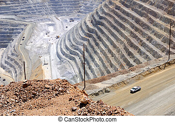 Bingham Kennecott Copper Mine Close-up