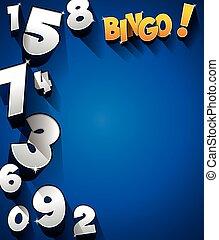 Bingo, Jackpot symbol - Creative Abstract Bingo Jackpot...