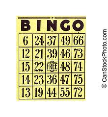 bingo kártya