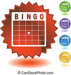 bingo- karte