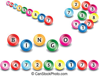 bingo, kugeln
