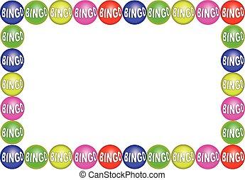 bingo, pelotas