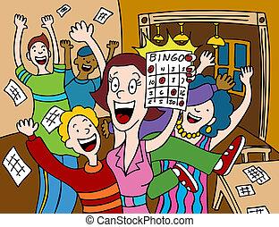 bingo, vinnare