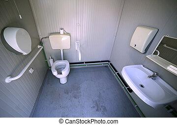 Invalide, badkamer.