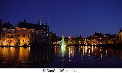 Binnenhof - Dutch Parliament, Holland - view of Binnenhof -...