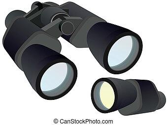 Binocular and monocular - Monocular and binocular optical ...