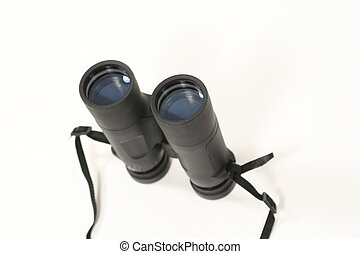 Binocular - binocular on white background