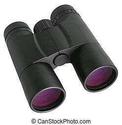 Binocular isolated on white background