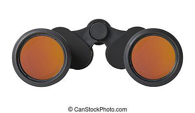 Binoculars Front View