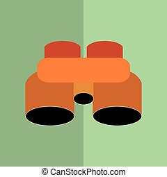 Binoculars icon design