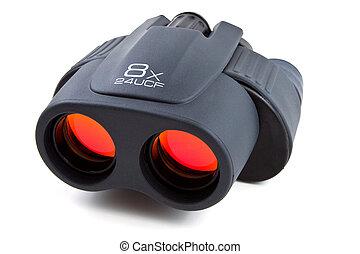 Binoculars isolated on white backgorund
