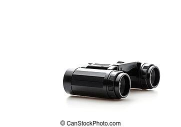 binoculars isolated on white