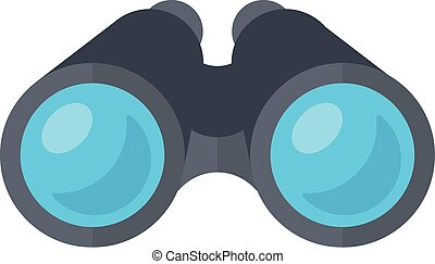 Binoculars spy glasses. - Isolated icon pictogram. Eps 10...