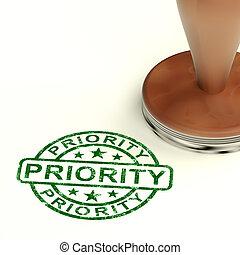 binse, briefmarke, ausstellung, priorität, dringend, dienstleistungen