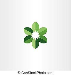 bio, シンボル, 緑, ロゴ, 円, 葉, アイコン