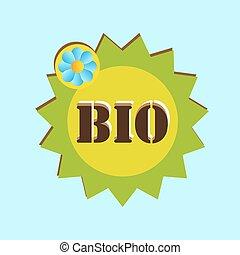 bio, ベクトル, アイコン
