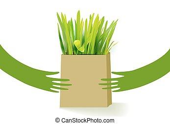 bio, 手の 保有物, 袋