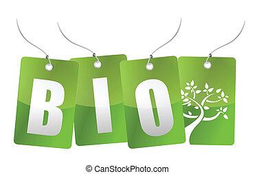 bio, 木, イラスト, タグ