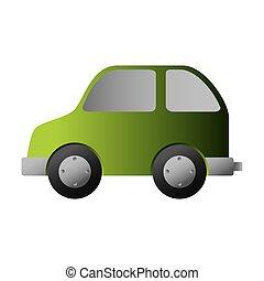 bio, 緑の客貨車