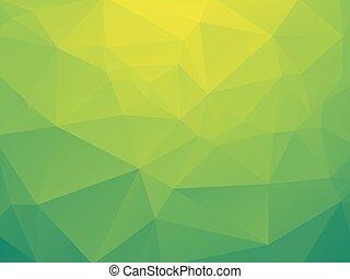 bio, 緑, 黄色の背景