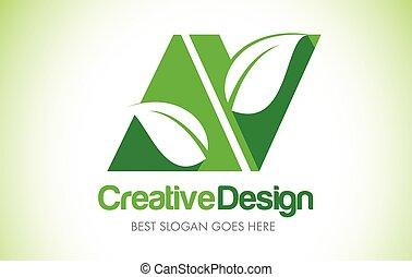bio, 葉, eco, イラスト, デザイン, 手紙, av, 緑, logo., アイコン