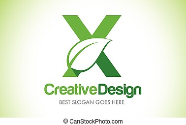 bio, 葉, eco, イラスト, デザイン, 手紙 x, 緑, logo., アイコン