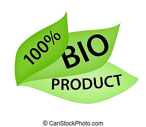 bio, 100%, プロダクトラベル