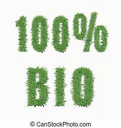 bio, 100%, 自然, design.