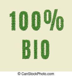 bio, 100, 自然, design.