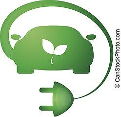 Bio car vector