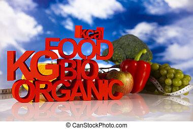 bio, cibo, organico
