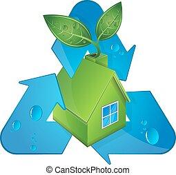 bio, energia, fontes, alternativa, casa