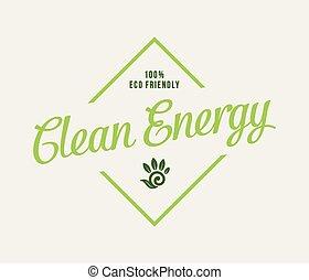 bio, energie, schoonmaken