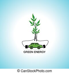 bio energy concept idea